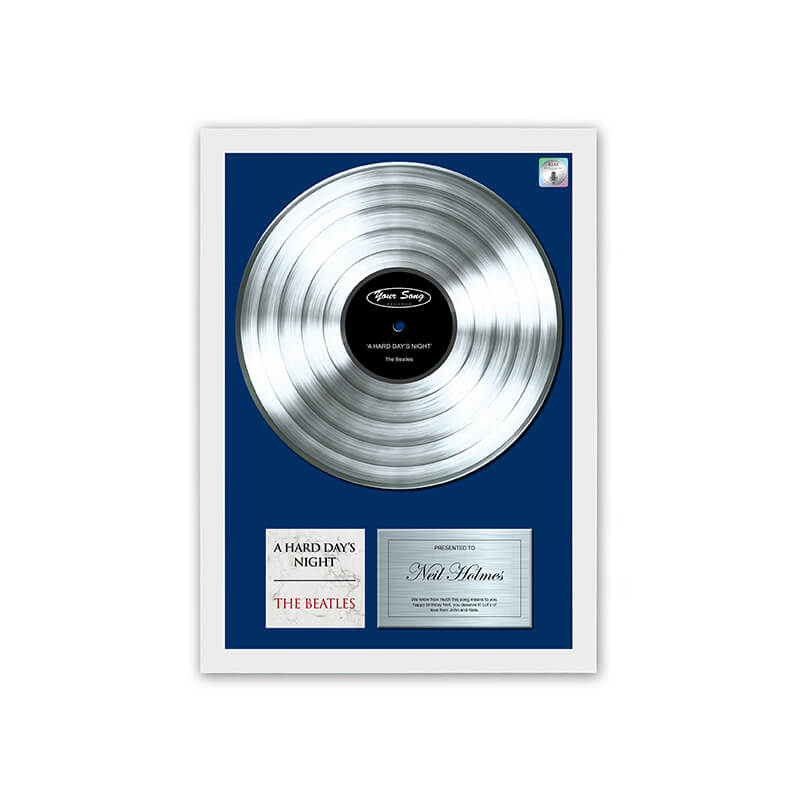 Personalised Your Song Poster Buy From Prezzybox Com