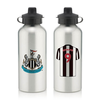 Personalised Newcastle United FC Water Bottle