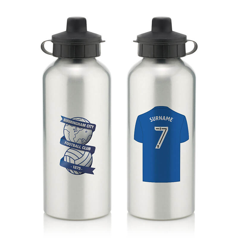 Personalised Birmingham City FC Water Bottle