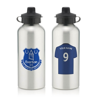 Personalised Everton FC Water Bottle