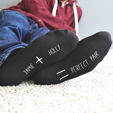Personalised Perfect Pair Socks