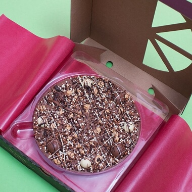 Irish Cream Chocolate Pizza 7""