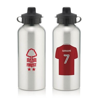 Personalised Nottingham Forest FC Aluminium Water Bottle