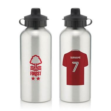 Personalised Nottingham Forest FC Aluminium Water Bottle