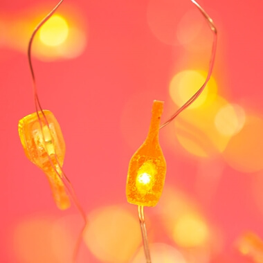 Prosecco String Lights