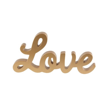 Gold Love Letters