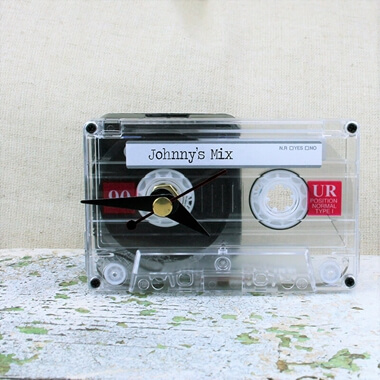 Personalised Mix Tape Clock