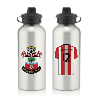 Personalised Southampton FC Aluminium Water Bottle