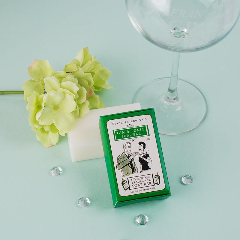 Gin And Tonic Soap Bar