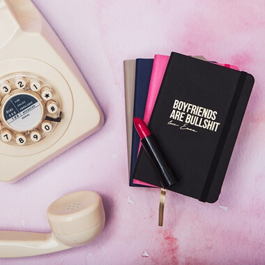 Personalised Boyfriends are B******t Notebook