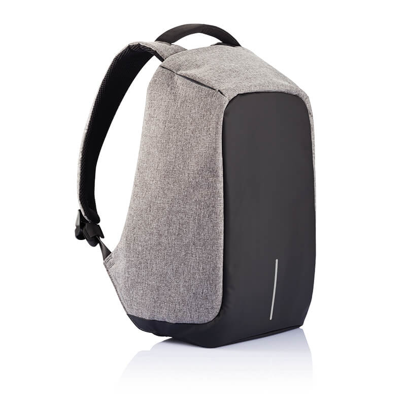 Bobby Original Anti-Theft Grey Backpack