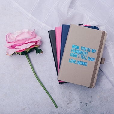 Personalised You're My Favourite Notebook