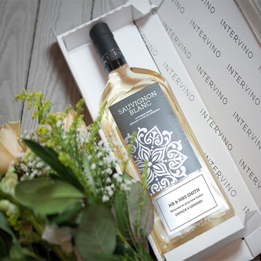 Personalised Letterbox Wine - White