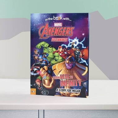 Personalised Marvel Avengers Book