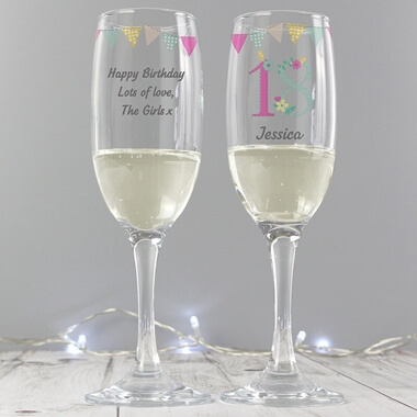 Personalised Birthday Craft Flute