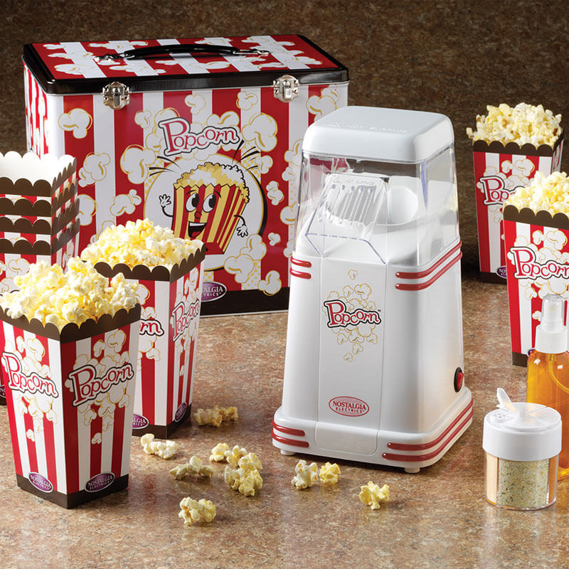 Mini Hot Air Popper With Popcorn Kit