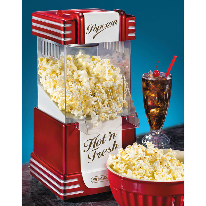 Retro Hot Air Popcorn Maker