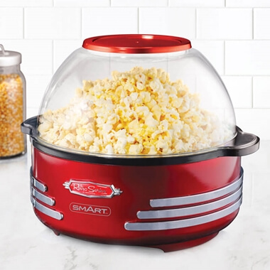 Retro Stirring Popcorn Maker