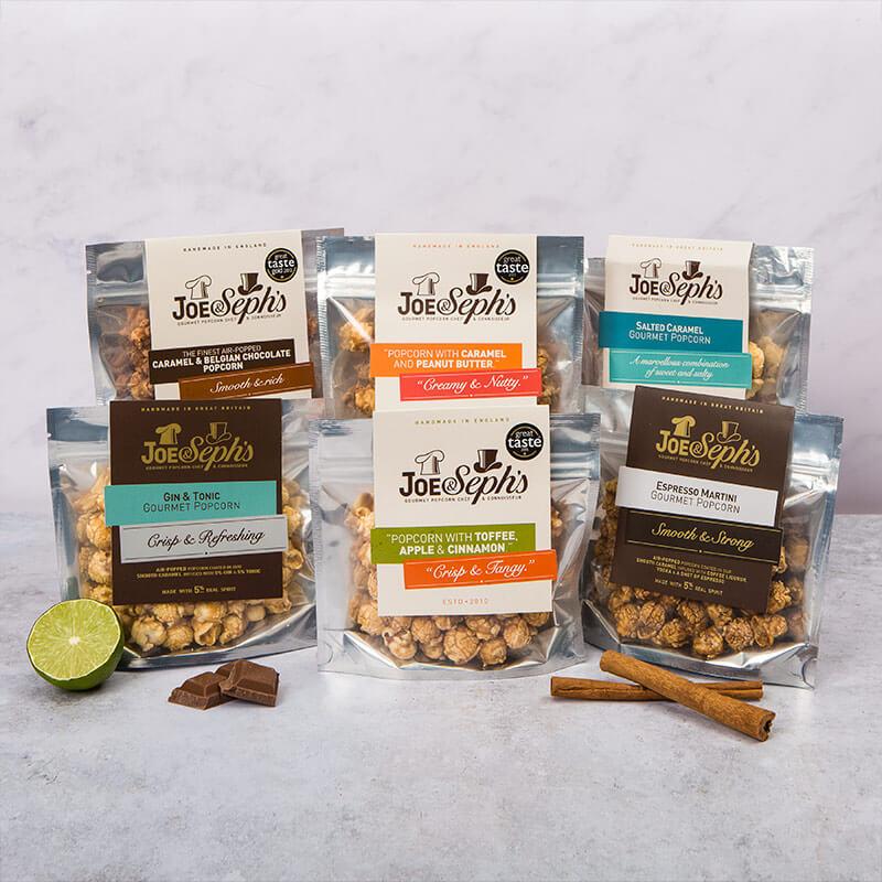 Handmade Gourmet Popcorn Gift Box