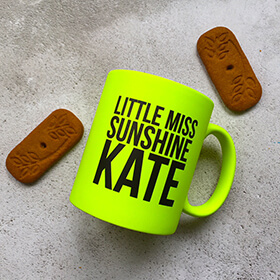 Personalised Little Miss Sunshine Mug