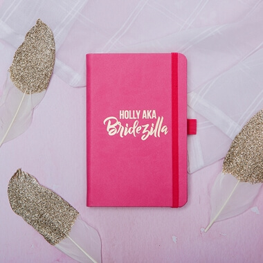 Personalised Bridezilla Notebook