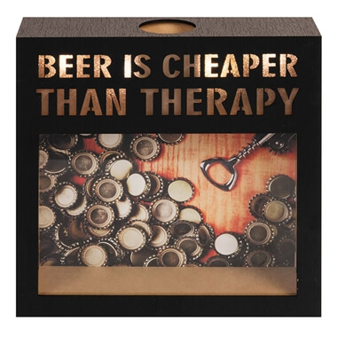 Brewmaster Light up Saving Funds Box