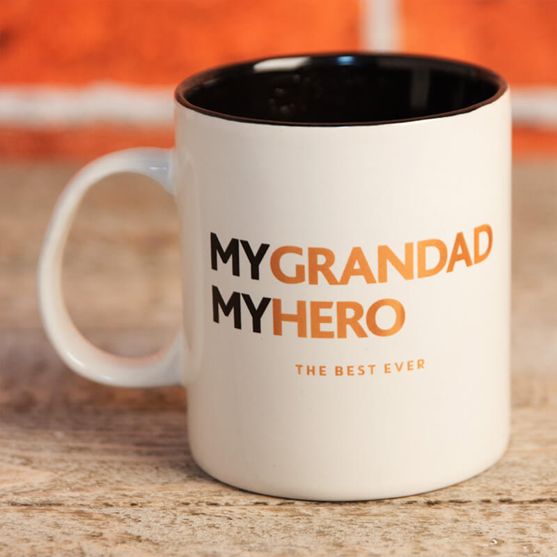 My Grandad, My Hero Mug