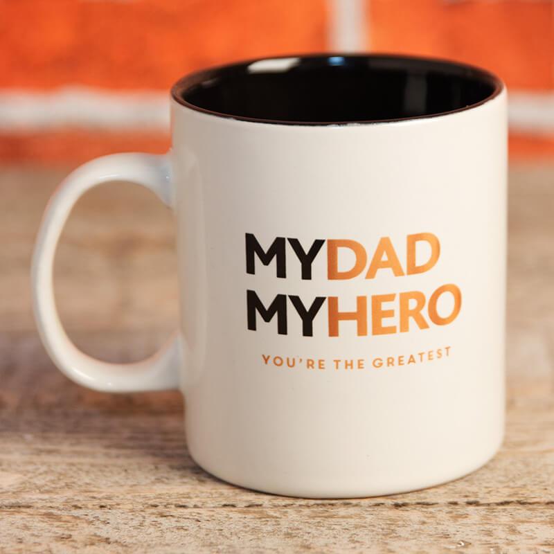 My Dad, My Hero Mug