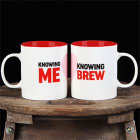 Knowing me, Knowing Brew Mug Duo Set