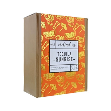 Cocktail Set - Tequila Sunrise