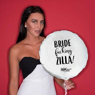 Bride Fucking Zilla Balloon