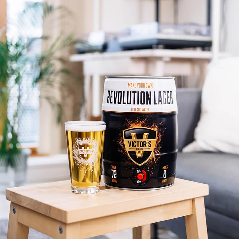 Make Your Own Revolution Lager