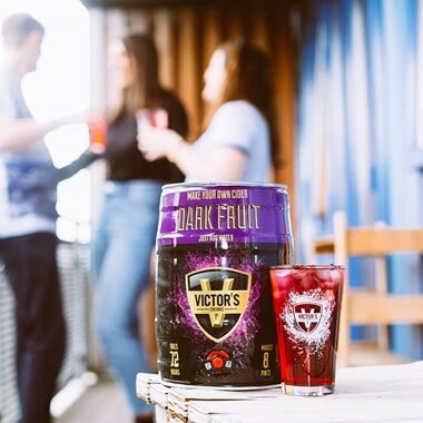 Make Your Own Dark Fruit Cider