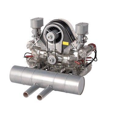Porsche Carrera Racing Engine