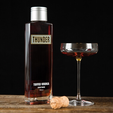 Thunder Toffee Vodka 70cl