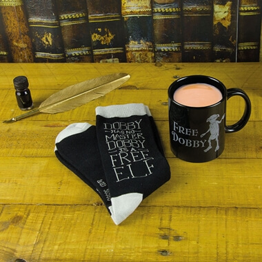Harry Potter Dobby Mug And Sock Set