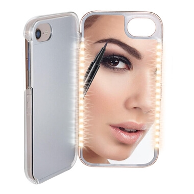 Light Up Mirror Phone Case