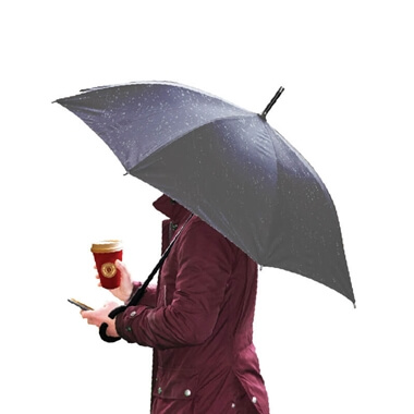 Smartphone Umbrella - Black