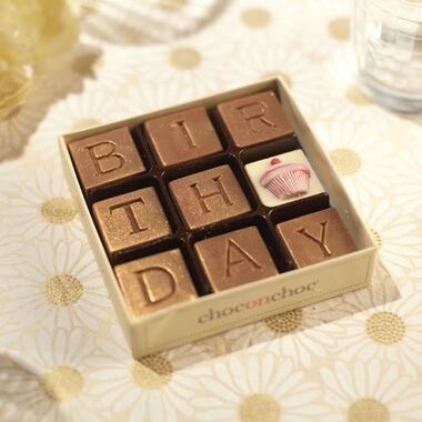 Birthday Chocolate & Present Ideas and Birthday Gifts for Female friends