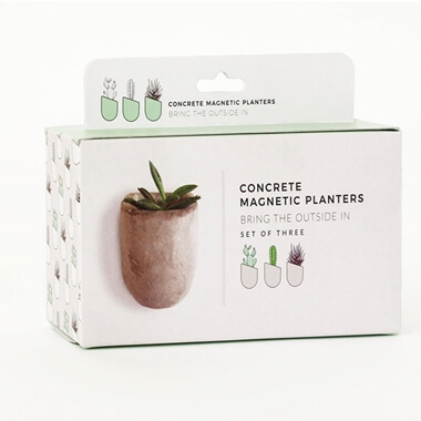 Set of 3 Magnetic Planters
