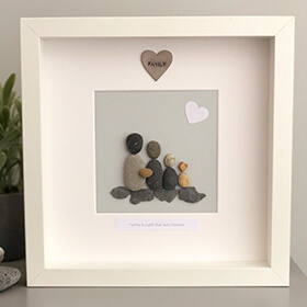 Personalised Pebble Picture Small