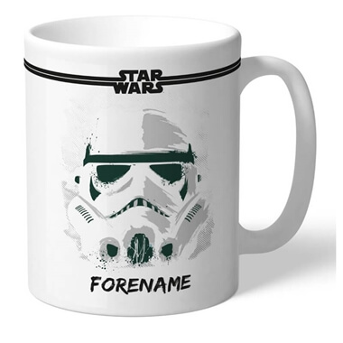 Personalised Star Wars Storm Trooper Mug