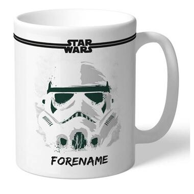 Personalised Star Wars Storm Trooper Mug