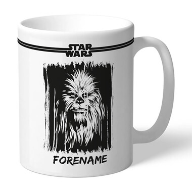 Personalised Star Wars Chewbacca Mug