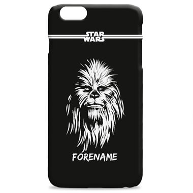 Personalised Star Wars Chewbecca iPhone Case