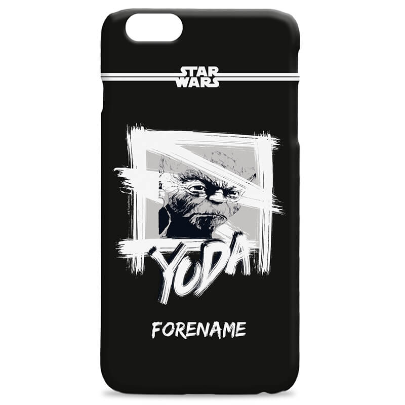 Personalised Star Wars Yoda 6/6S iPhone Case