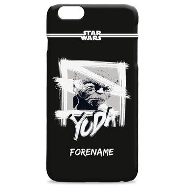 Personalised Star Wars Yoda iPhone Case
