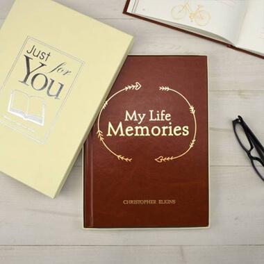 Personalised My Life Memories Journal