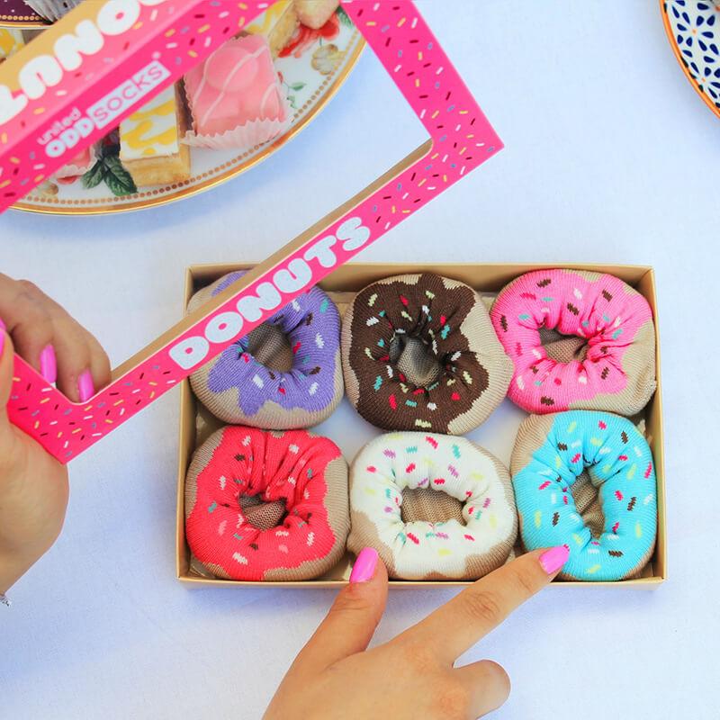 Donuts Ladies Socks