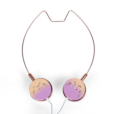 Pusheen Headphones With Cat Ears